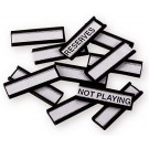 Extra Magnet Tabs for Coacher Boards - Set of 100