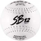 "12"" Spalding SB12L Cork Center White Stitch .47 COR Softballs from Dudley - (One Dozen)"