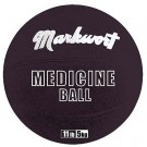 Rubber Medicine Training Ball from Markwort - 11 lbs/5 kg by