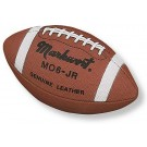 Junior Size Top Quality Leather Football from Markwort