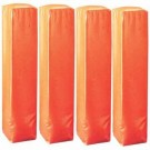Football Field Pylons for Goal Line and End Zone - Set of 4 Pylons