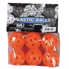 """5"""" Pliable Plastic Practice Golf Balls from Markwort - 10 Bags"""