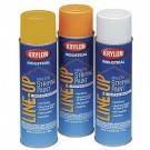 20 oz. Athletic Striping Paint from Krylon (Yellow) - 1 Case