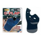 C-Flap Face Guard - Left Handed Batters (Baseball Batting Helmet NOT included)