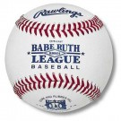 Babe Ruth League Raised Seam Baseballs For Game Play from Rawlings - (One Dozen)