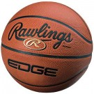 Edge Men's Composite Leather Indoor NFHS Basketball from Rawlings