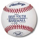 Dixie Youth League Baseballs For Game Play from Rawlings - (One Dozen)