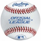 Official League Raised Seam Baseballs from Rawlings - (One Dozen)