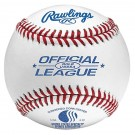 ROLB USSSA Official League Leather Baseballs from Rawlings - (One Dozen)