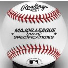Official Major League Specifications Baseballs - One Dozen