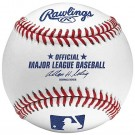 Official Major League Leather Game Baseballs from Rawlings - (One Dozen) by