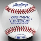 Official AA League Soft Core Synthetic Cover Baseballs from Rawlings - Medium/Firm Center - (One Dozen)