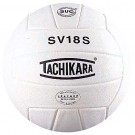 "Tachikara ""Performance"" Indoor / Outdoor Institutional Composite Leather Volleyball (White) - SV18S"
