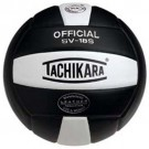 "Tachikara ""Performance"" Indoor / Outdoor Institutional Composite Leather Volleyball (Black) - SV18S"