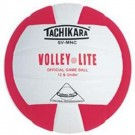 "Tachikara ""Volley-Lite"" Sensi-Tec Composite Leather Volleyball  (Scarlet / White)"