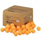 Orange Table Tennis Practice Balls from Lion - 1 Gross