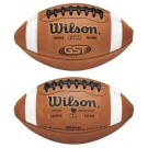 Wilson GST™ Pee Wee Football (863 Premium Leather)