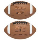 GST Composite K2 Pee Wee Football from Wilson