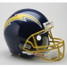 San Diego Chargers 1974 - 1987 Riddell Old Logo Pro Line Helmet by