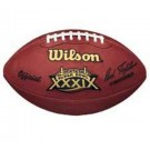Super Bowl XXXIX Official Game Football by Wilson - New England Patriots vs. Philadelphia Eagles