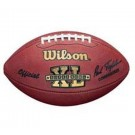 Super Bowl XL Official Game Football by Wilson - Pittsburgh Steelers vs. Seattle Seahawks by