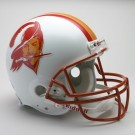 Tampa Bay Buccaneers (1976-1996) Riddell Full Size Old Logo Current Construction Throwback Football Helmet