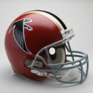 "Atlanta Falcons (1966-1969) Riddell Full Size ""Old Style Throwback"" Football... by"