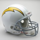 "San Diego Chargers (1961-1973) Riddell Full Size ""Old Style Throwback"" Authentic... by"
