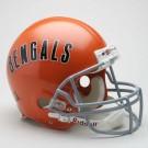 "Cincinnati Bengals (1968-1979) Riddell Full Size ""Old Style Throwback"" Football Helmet"