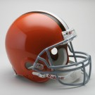 "Cleveland Browns (1962-1974) Riddell Full Size ""Old Style Throwback"" Football... by"