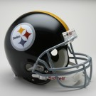 "Pittsburgh Steelers (1963-1976) Riddell Full Size ""Old Style Throwback"" Football Helmet"