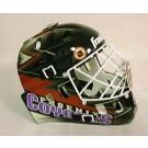 Tyrone Wheatley, New York Giants Autographed Riddell Old Logo Authentic Mini Football Helmet