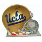 Troy Aikman, UCLA Bruins Official Riddell Autographed Authentic Full Size Pro Line Football Helmet