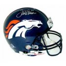 Terrell Davis, Denver Broncos Official Riddell Pro Line Autographed Authentic Full Size... by