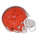 Tim Couch, Cleveland Browns Autographed Riddell Authentic Mini Football Helmet