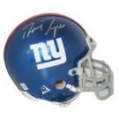 Ron Dayne, 2000 New York Giants Autographed Riddell Authentic Mini Football Helmet