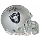 Rich Gannon, Oakland Raiders Autographed Riddell Authentic Mini Football Helmet
