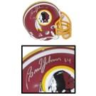 Brad Johnson, Washington Redskins Autographed Riddell Old Logo Authentic Mini Football Helmet