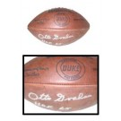 "Otto Graham, Cleveland Browns Autographed Wilson Official NFL ""Duke"" Game Model... by"