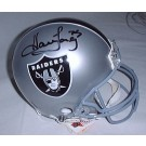 Howie Long Oakland Raiders Official Riddell Pro Line Autographed Authentic Full Size Football Helmet