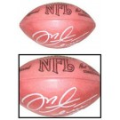 Mike Alstott Autographed Official Wilson NFL Game Football by