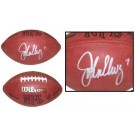 John Elway Autographed Official Wilson NFL Game Football by