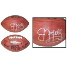 Jim Kelly Autographed Official Wilson NFL Game Football