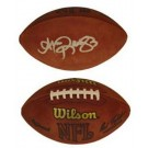 Andre Reed Autographed Official Wilson NFL Game Football by