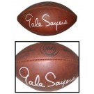 Gale Sayers Autographed Official Wilson Duke Game Football by