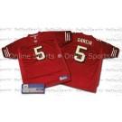 Jeff Garcia 2002 San Francisco 49ers  Authentic Reebok NFL Football Jersey (Burgundy)