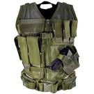 Green Tactical Vest (Regular, M-XL)
