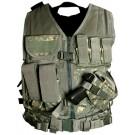 Digital Camo Tactical Vest (Larger Size, XL-XXL)