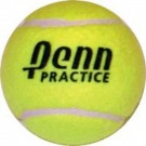 Penn Practice Tennis Balls - 3 Cans (Total of 9 Balls)