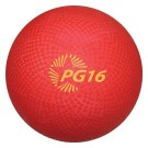 "16"" Red Playground Kickball (Set of 5)"
